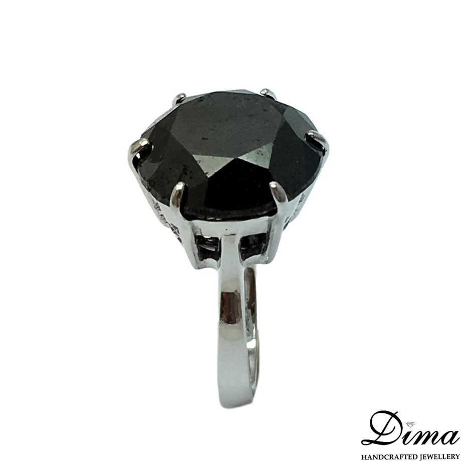18ct White Gold, 17.40ct Diamond Ring