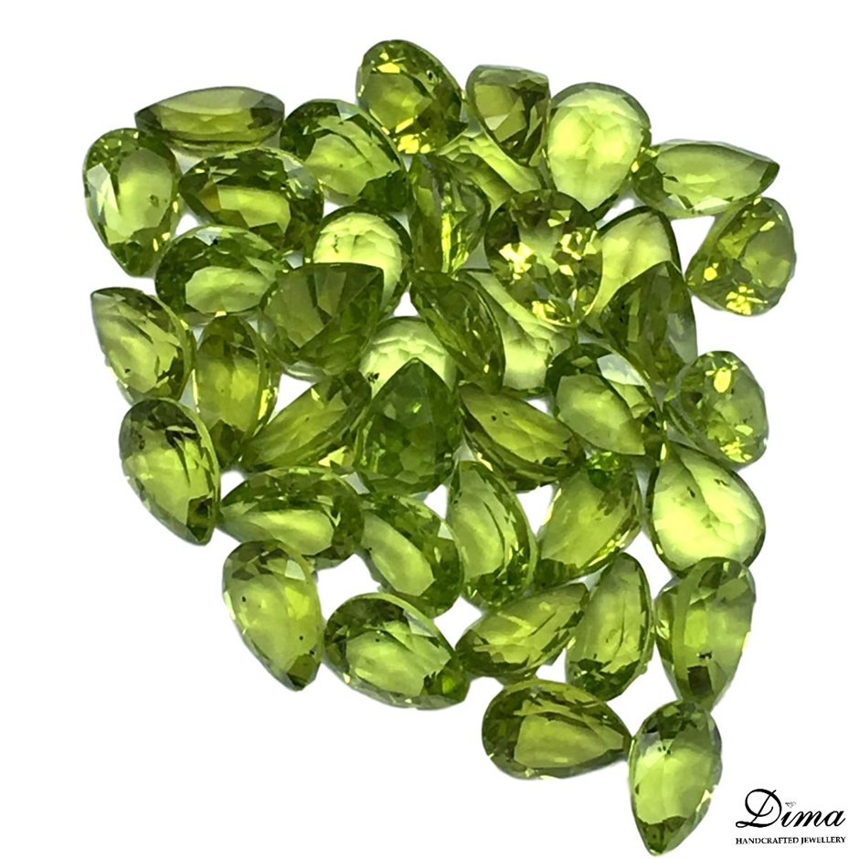 Forty Loose Peridot, 50.24ct in Total