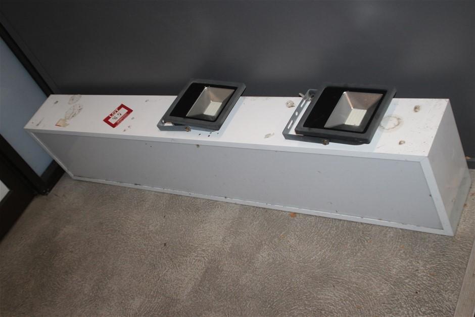 Exterior Signage Light Box & Spot Lights