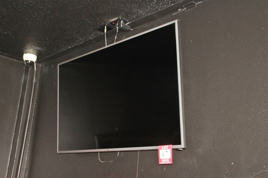 """Kagon 55"""" LED TV with Wall Mount & Remote"""