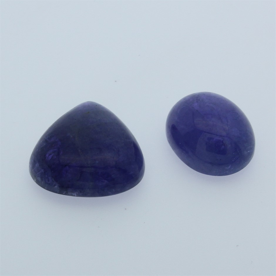 Two Loose Tanzanite, 70.10ct in Total