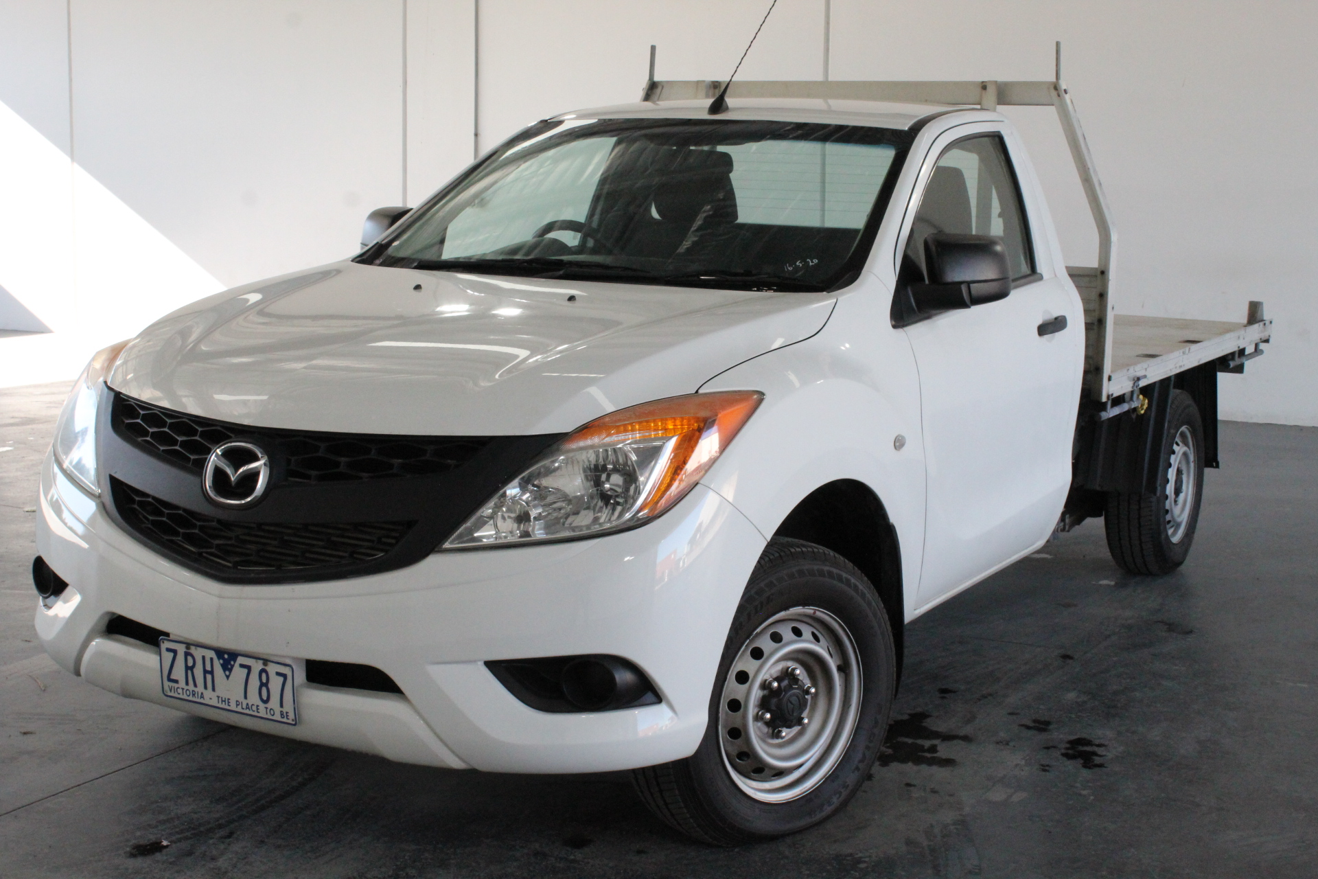 2013 Mazda BT-50 4X2 XT Turbo Diesel Manual Cab Chassis