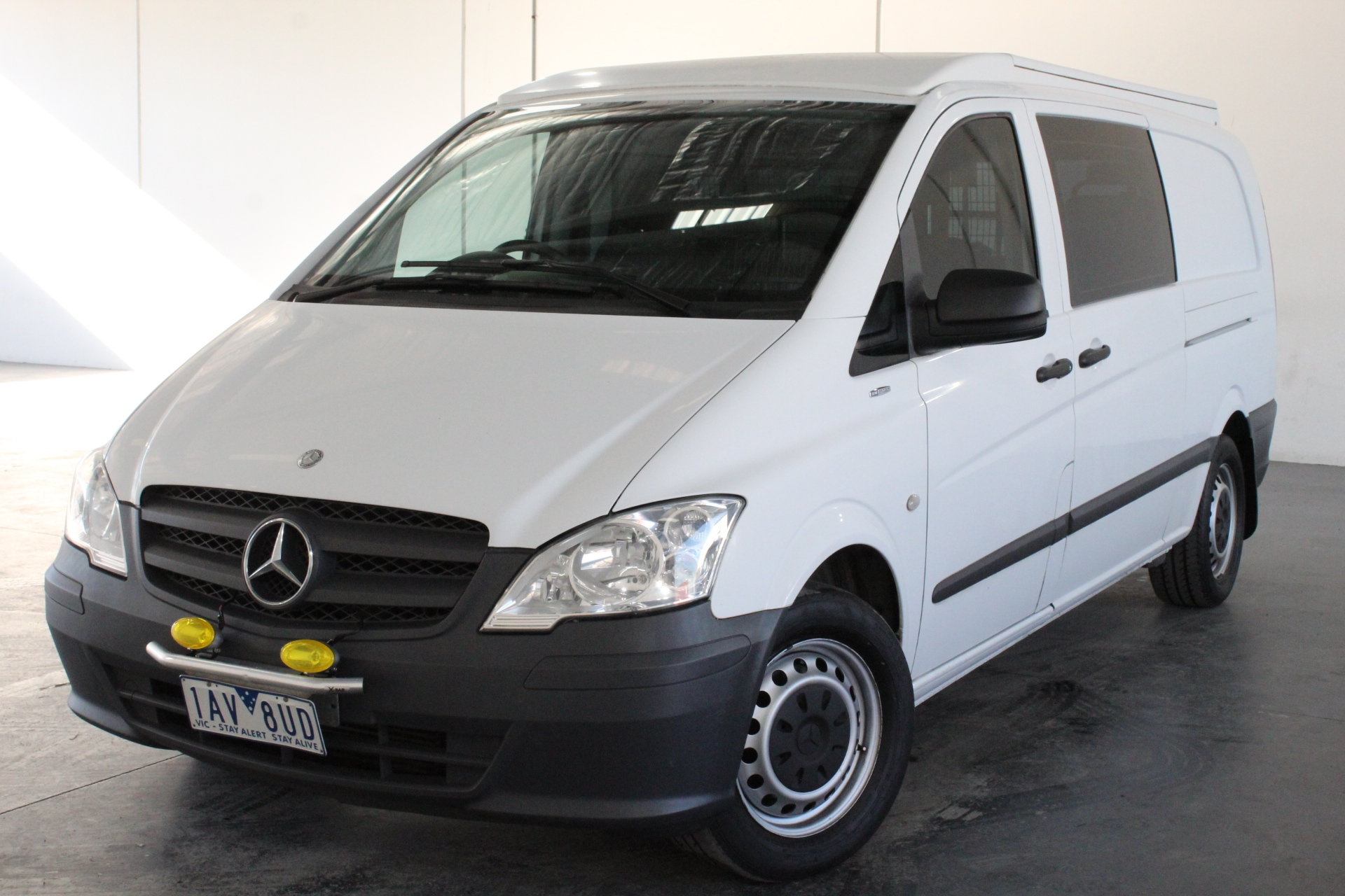 2013 Mercedes Benz Vito 113 CDI LWB Turbo Diesel Manual Van