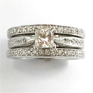 18ct White Gold,0.72ct Diamond Engagemen