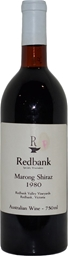 Redbank Winery Marong Shiraz 1980 (1x 750mL), VIC. Cork.