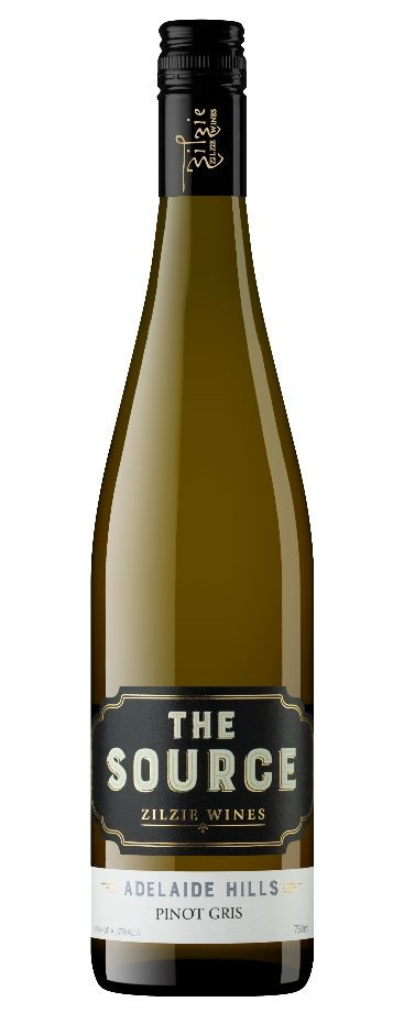 Zilzie The Source Pinot Gris 2019 (12 x 750mL) Adelaide Hills, SA
