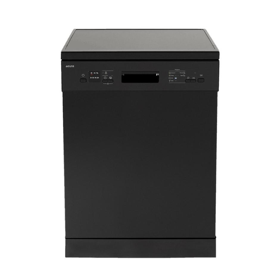 Euro 60cm Black Freestanding Dishwasher, Model: ED614BK