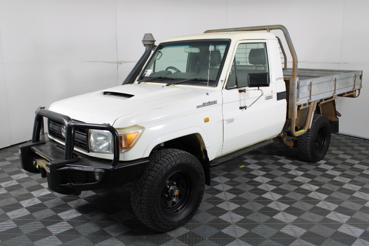2011 Toyota Landcruiser Workmate (4x4) VDJ79R TD Manual Cab Chassis