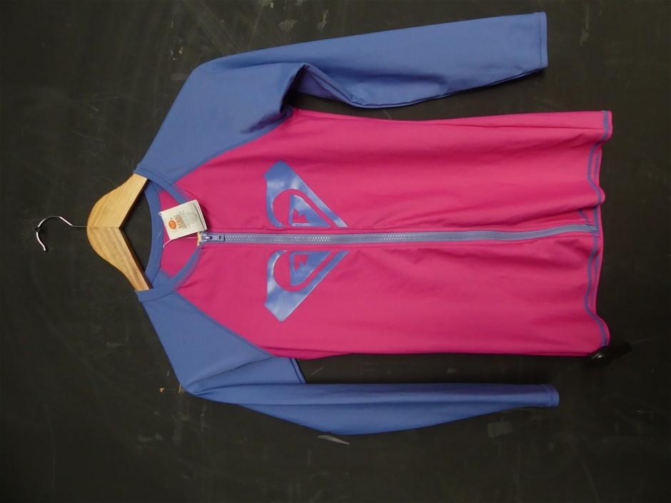 Roxy L/S Zip Fnt Psh G Sfsh Ml Wo Wet Suit Top (ARGWR03026)