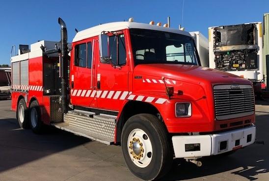 1999 Freightliner Fire Truck, FL 80