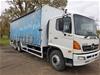 2003 Hino GH Curtainsider Rigid Truck