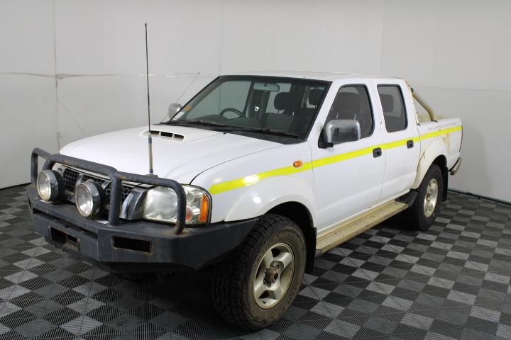 2012 Nissan Navara 4X4 ST-R D22 Turbo Diesel Dual Cab 138,505km