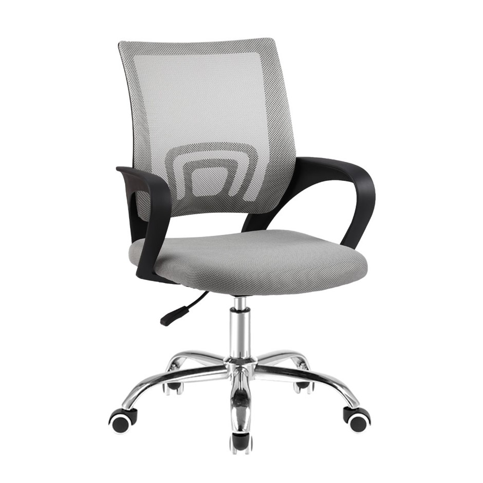 Artiss Office Chair Gaming Chair Computer Mesh Executive Mid Back Grey
