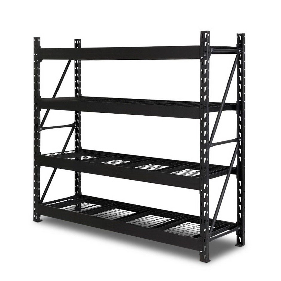 Giantz 2M Warehouse Racking 200x200cm - Wired