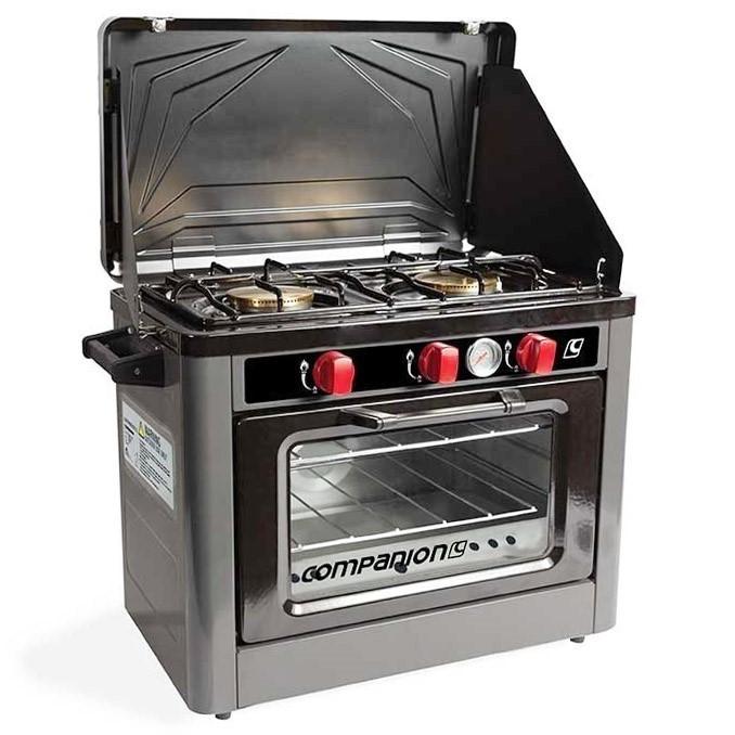 COMPANION Portable Gas Oven & Stove Cooktop Combo. (SN:CC57787) (272629-81)
