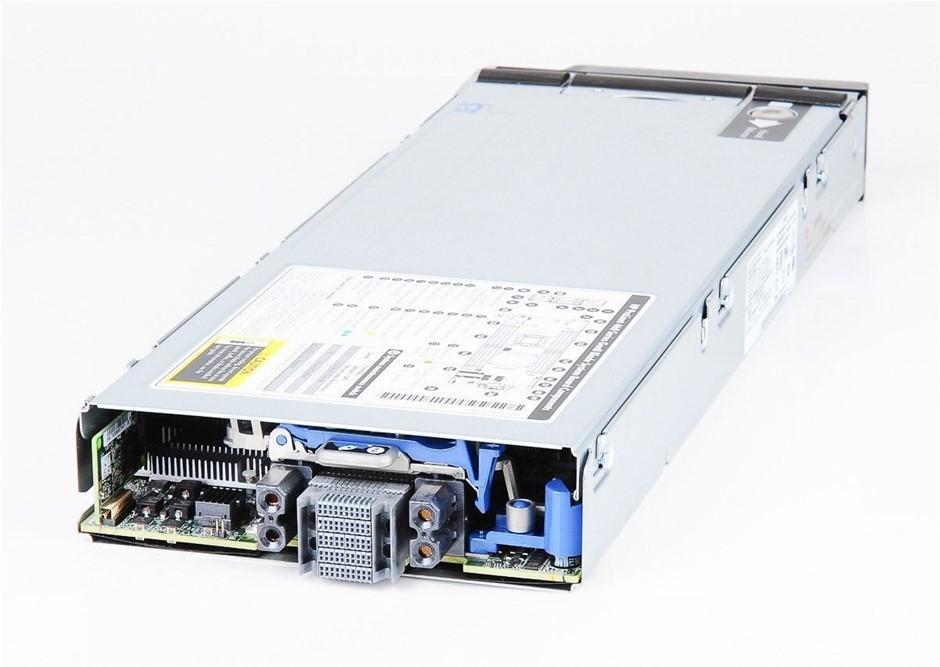 HP BL460c-Gen8 SERVER, 2x E5-2620v2, 256GB, 0.8 TB