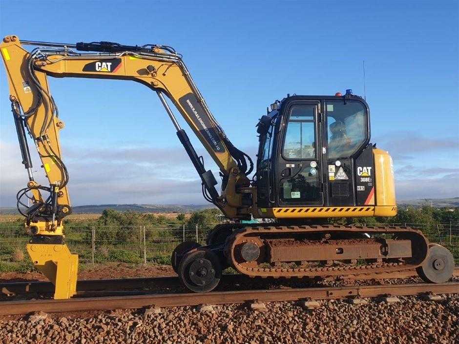 Hi Rail Excavator - 2017 Caterpillar 308ECR