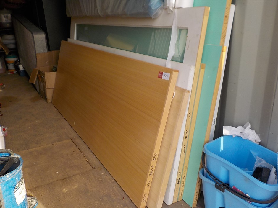 9 x Assorted Timber Doors
