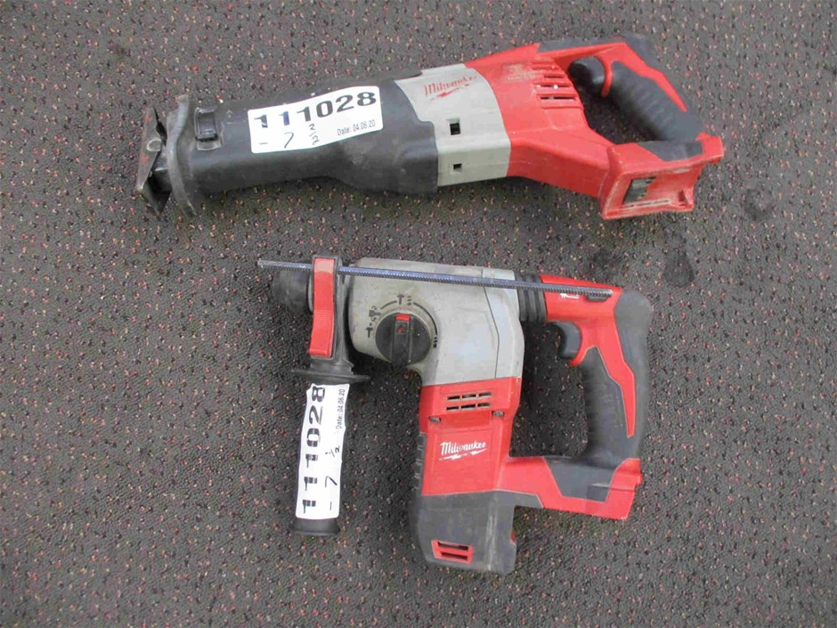 Qty 2 x Milwaukee Cordless Power Tool Shells