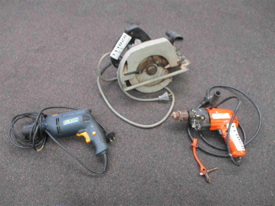 Qty 3 x Assorted Power Tools