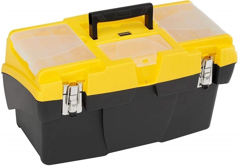 STANLEY Jumbo Cantilever Tool Box 49.5cm. (SN:1-92-911) (272649-103)