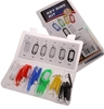 42pc Key Ring Assortment Set. Buyers Note - Discount Freight Rates Apply to