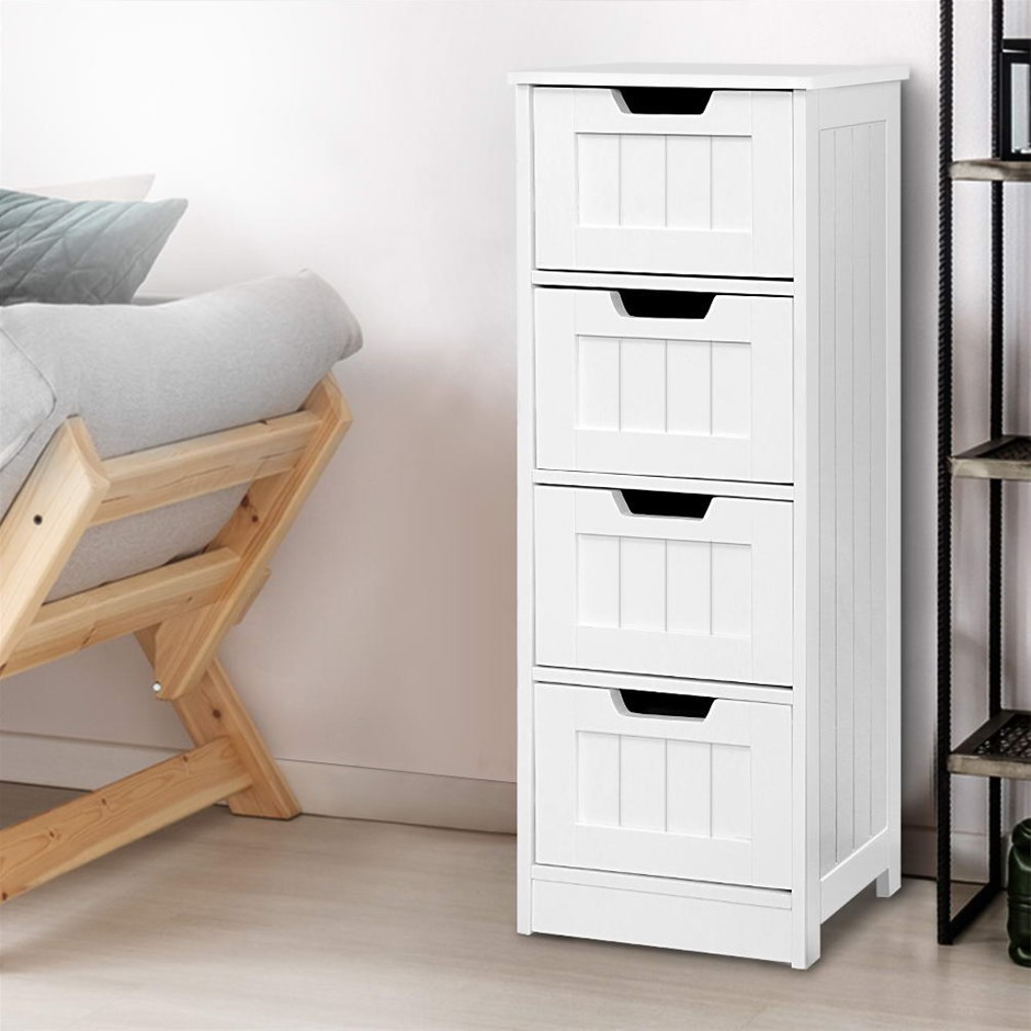 Storage Cabinet Chest of Drawers Dresser Bedside Table Bathroom Stand