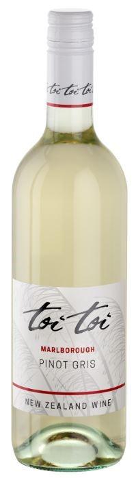 Toi Toi Marlborough Pinot Gris 2018 (6 x 750mL) NZ