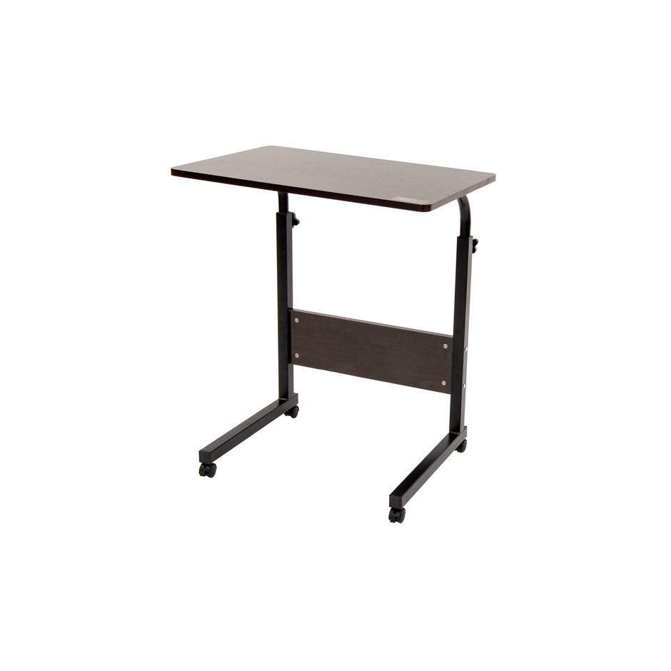 Mobile Laptop Desk Bed Stand Computer Table Adjustable Notebook Bedside