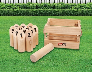 Number Toss Wooden Set Outdoor Games wit