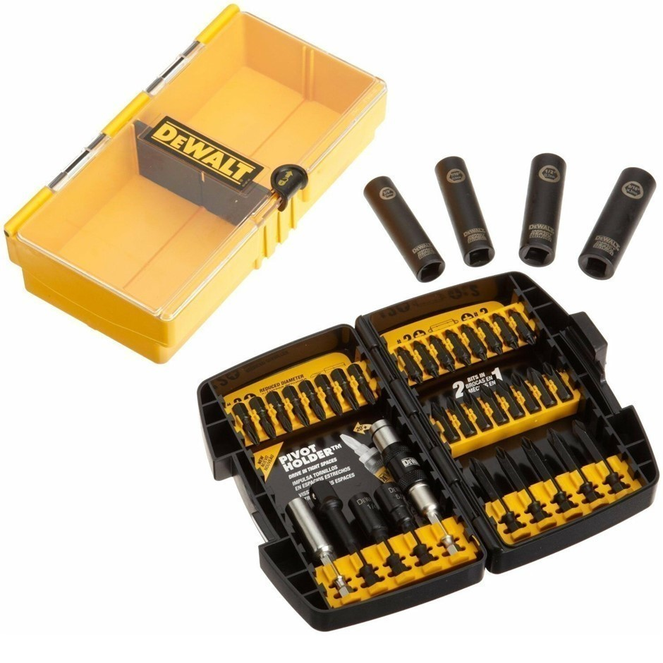 DeWALT 38pc Impact Driver Set. Buyers Note - Discount Freight Rates Apply t