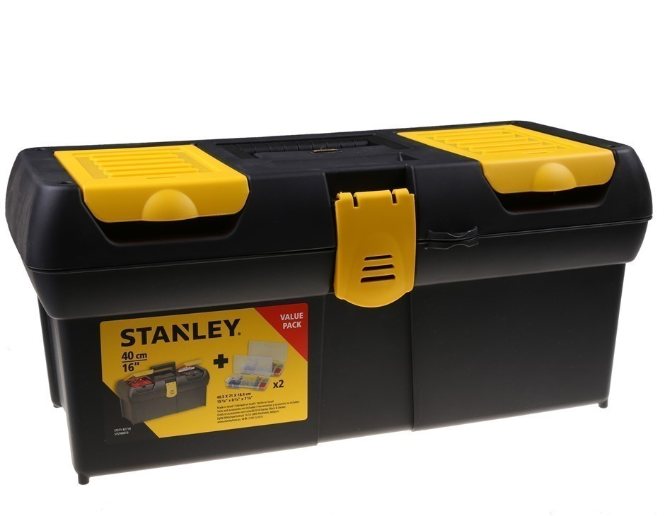 STANLEY 405mm Tool Box with Organisers. (SN:STST1-82718) (272649-78)
