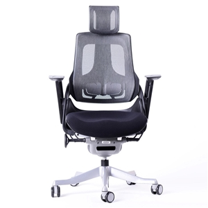 Buy 20 X Bulk Buy Of Wau Ergonomic Office Chairs Black GraysOnline Australia