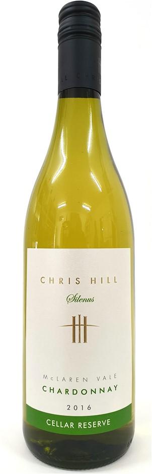 Chris Hill Silenus Cellar Reserve Chardonnay 2016 (12 x 750mL) SA