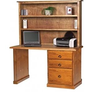 Norfolk Pine Desk And Hutch