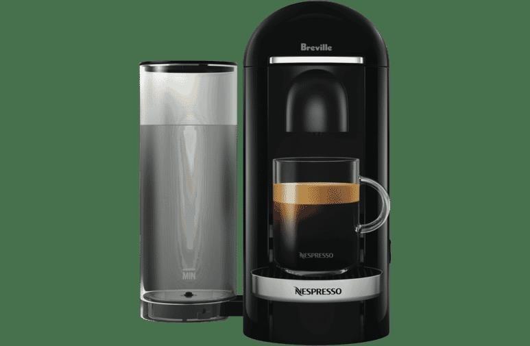 BREVILLE NESPRESSO Vertuo Plus Coffee Machine, Black. N.B. Not in original