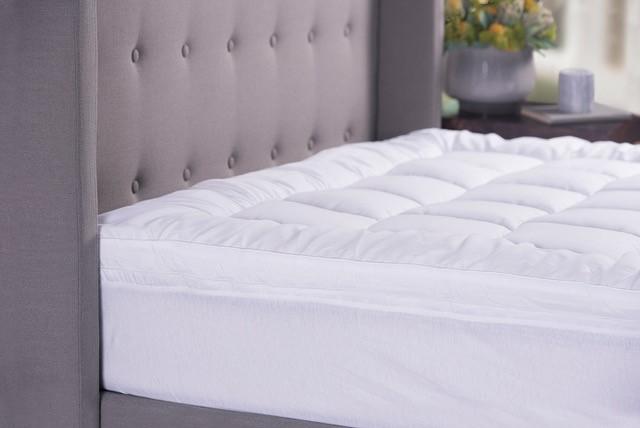 Sheraton Microfibre Mattress Topper King Bed 2000 GSM