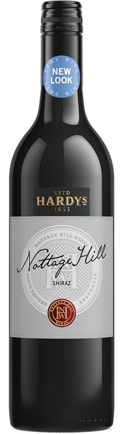 Hardy's `Nottage Hill` Shiraz 2017 (6 x 750mL), SA. Screwcap