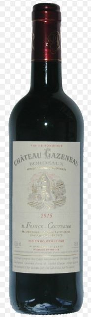 Maison Riviere Chateau Gazeneau Dry Red 2014 (12 x 750mL) Bordeaux, France