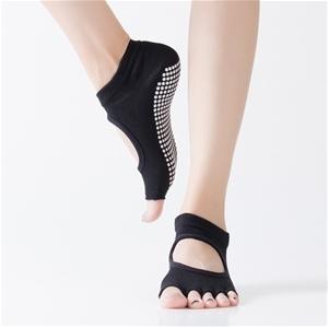 Yoga Running Toeless Socks For Women - B