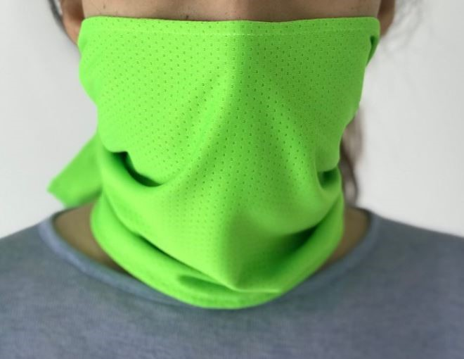 8 Packs x Cool Dual-Sided Cooling Towel Hi Vis Green For Outdoor Activities