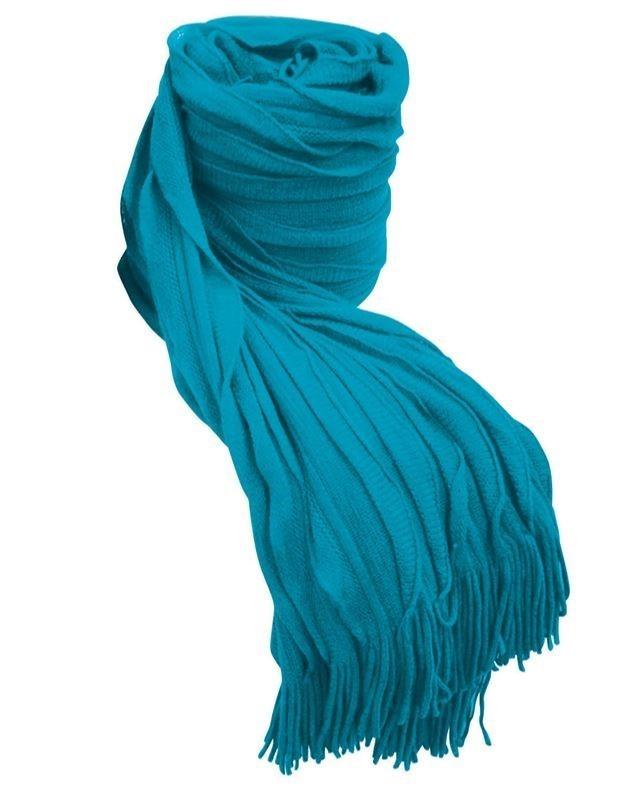 BAMBURY Cambridge Throw Rug, Aqua. 100% Acrylic. 130 x 150cm Buyers Note -
