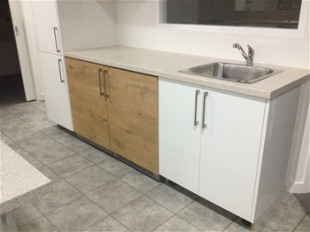 Laundry Cabinets And Bench Top