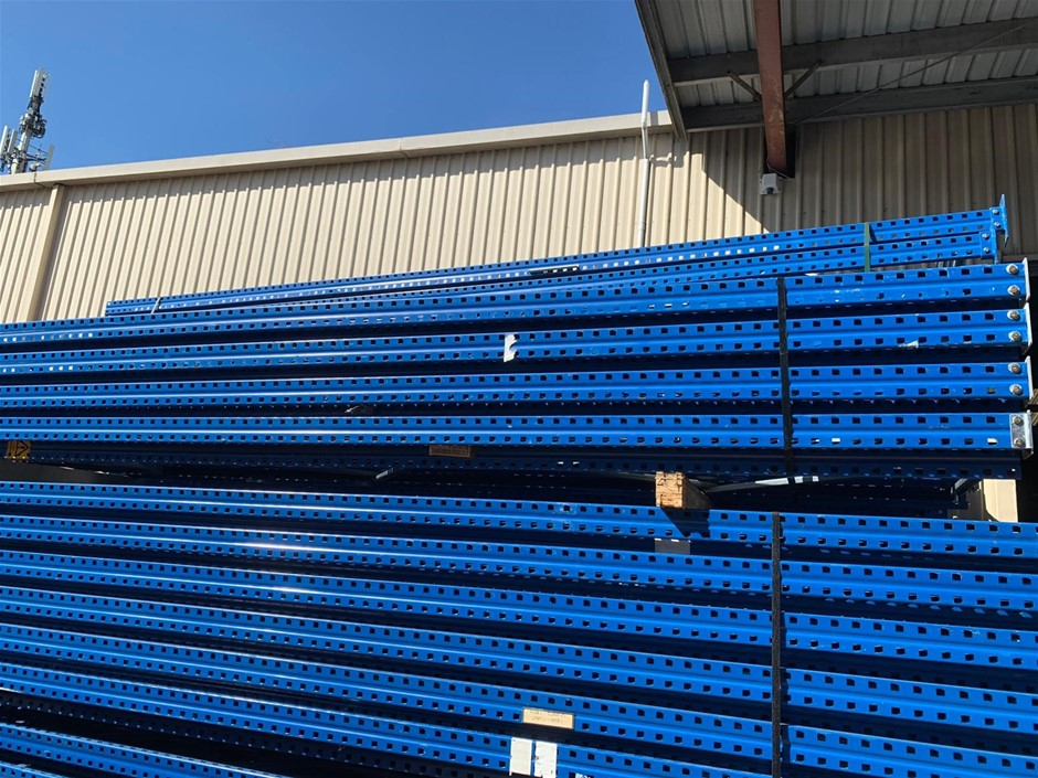 COLBY BRAND PRE-OWNED PALLET RACKING- 200 PALLET LOCATIONS