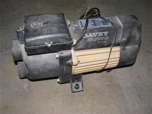 davey xs 250 spa pump manual