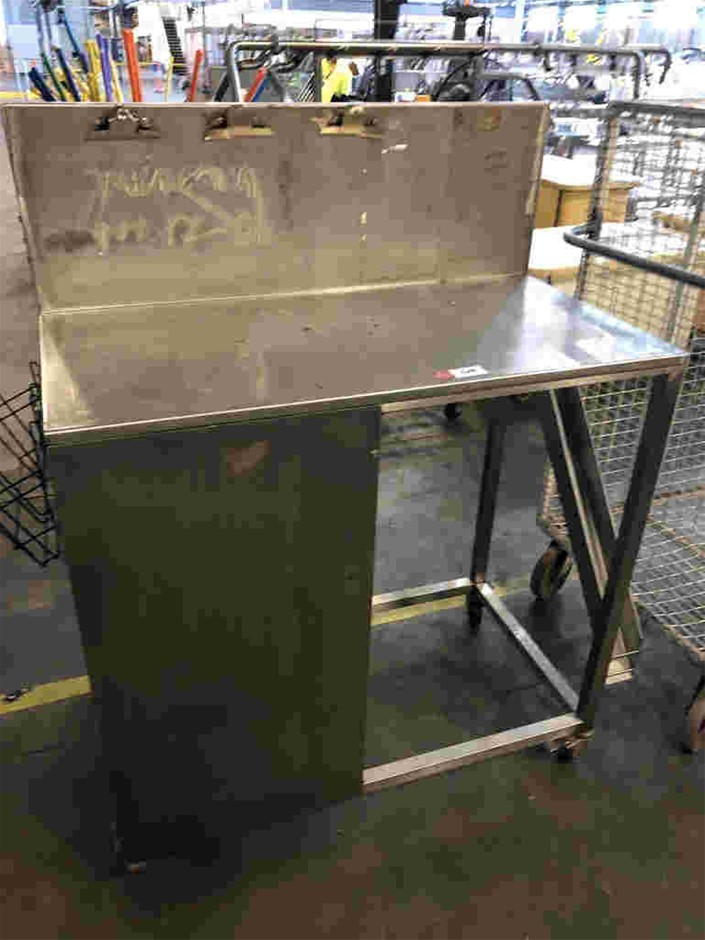 Mobile Stainless Steel Work Station