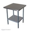 Unused 610mm x 610mm Stainless Steel Bench