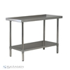 Unused 1524mm x 760mm Stainless Steel Bench