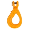 2 x Clevis Self Locking Safety Hooks, Suits 10mm Chain WLL 3200kg, Grade 80