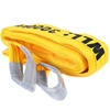 2 x Flat Webb Lifting Sling, WLL 3000kg x 2M. (With Test Cert). Buyers Note